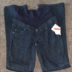 maternity jeans nwt